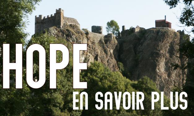 HOPE, EN SAVOIR PLUS …
