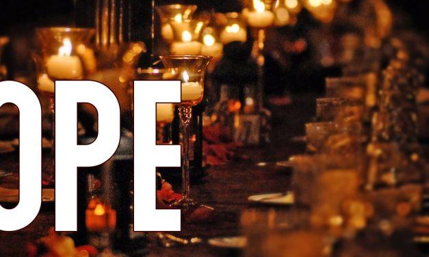HOPE S01 EP04, le banquet