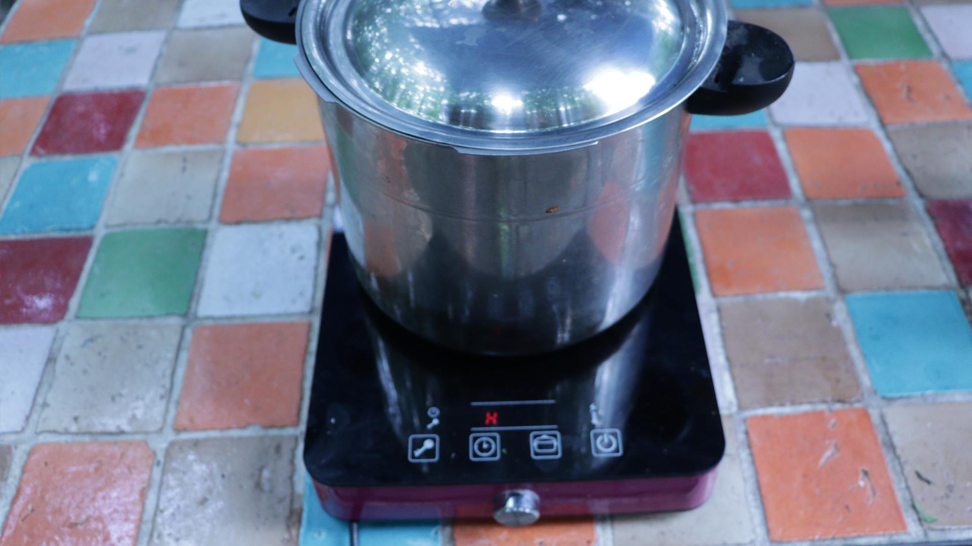 Autonomie Résilience Lessive de lierreFin de cuisson attente